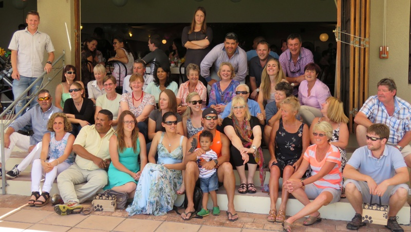 Staff and family 2014 small